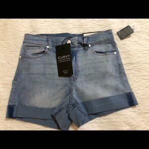 NWT curvy collection CP Jeans denim shorts, 11